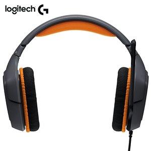 Image 3 - Logitech Originais G231 PRODÍGIO Estéreo Fones de ouvido de Jogos Cancelamento de Ruído de MICROFONE On Cabo 3.5 milímetros Fone De Ouvido Compatível com Xbox um PS4
