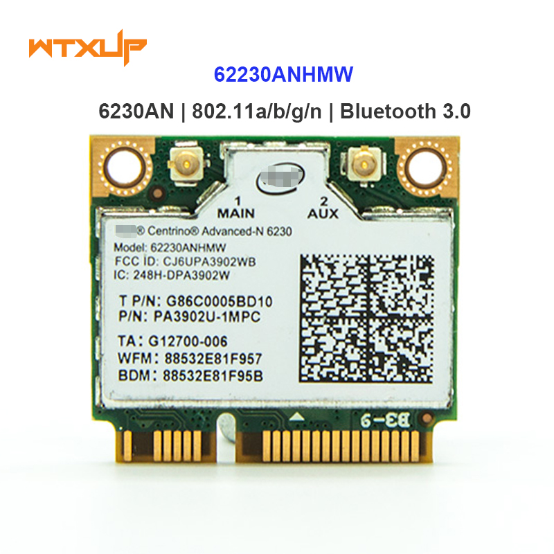 Drahtlose Wifi Karte 62230 ANXHMW 6230AN 300 Mbps Wlan netzwerk ...
