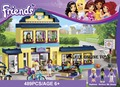Building Blocks Set Compatible with Friends Series 489 Pcs 3 Toy Figures DIY HIgh School Brinquedos Bricks Toys for Girls