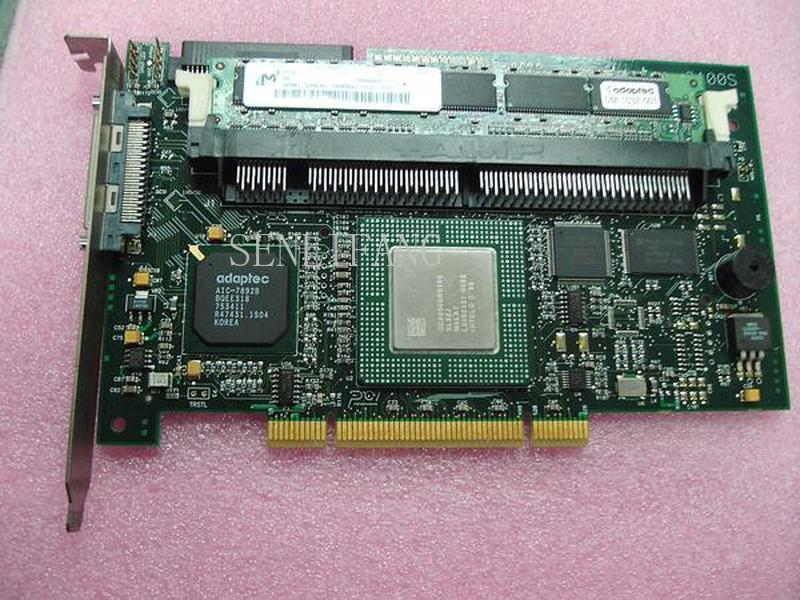 Free Shipping Server SCSI Raid Controller ADAPTEC-2100S HA-1320-01-2B