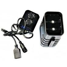 6×18650 батарея чехол для хранения держатель водостойкий DIY пауэрбэнк чехол для велосипеда USB зарядное устройство для батарей коробка чехол для смартфона