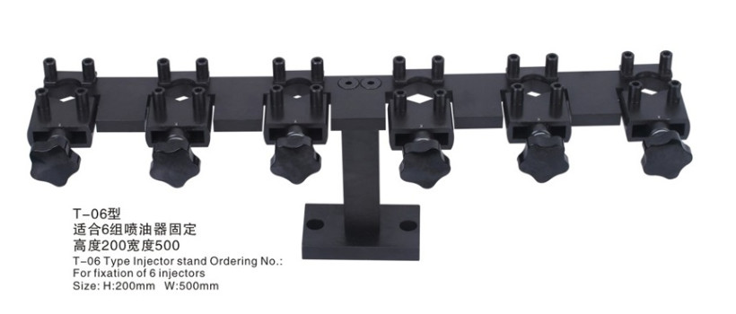 цена на common rail injector stand frame used on common rail test bench for Bossch Densso and Deslphi, common rail injector clamp tool