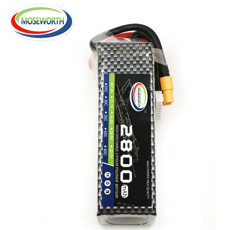 MOSEWORTH 6S RC Lipo Battery 22.2v 2800mAh 40C For RC Aircraft Quadcopter Helicopter  Boat Car Drone Airplane Li-polymer AKKU 6S 5pcs lot 20cm 20cm rc battery fastening tape for li po battery of rc quadcopter rc aircraft rc boat wholesale