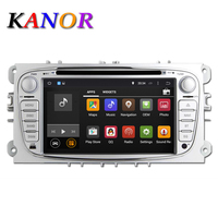 KANOR 7 2Din 1024 600 Android 7 1 Car DVD GPS Sat Navi Radio For Ford