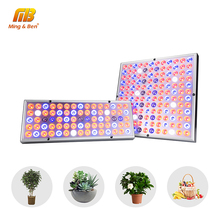 Phyto Lamp Indoor Grow Lamp For Plant 380 780nm Full Spectrum LED Growing Light 85 265V 75leds 144leds 25W 45W UV IR Lamps Panel