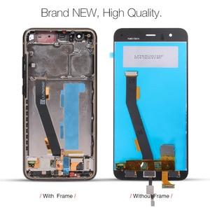 Image 3 - Xiao mi mi 6 LCD ekran + çerçeve + parmak izi sensörü için Xiao mi mi 6 ekran 10 ekran takımı değiştirme onarım parçaları