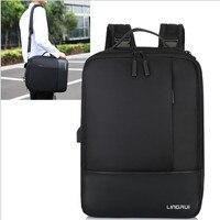 Multifunction USB Charging fashion Backpack 15.6 Inch Laptop Backpacks Men Back Pack bag Large Capacity shool Backpack