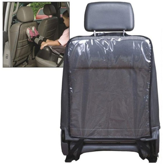 newest universal car seat back backrest protection cover protector sheet children kick mat mud clean preventing pad seat covers