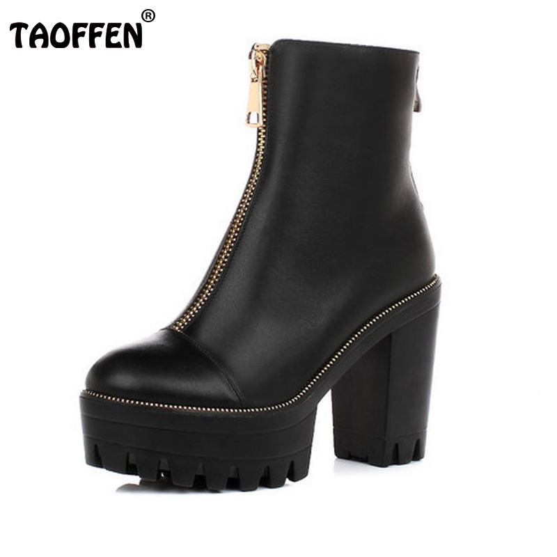 ФОТО Women High Heel Ankle Boots Half Short Botas Ladies High Heeled Shoes Woman Square Heel Boots Footwear Shoes Size 34-39