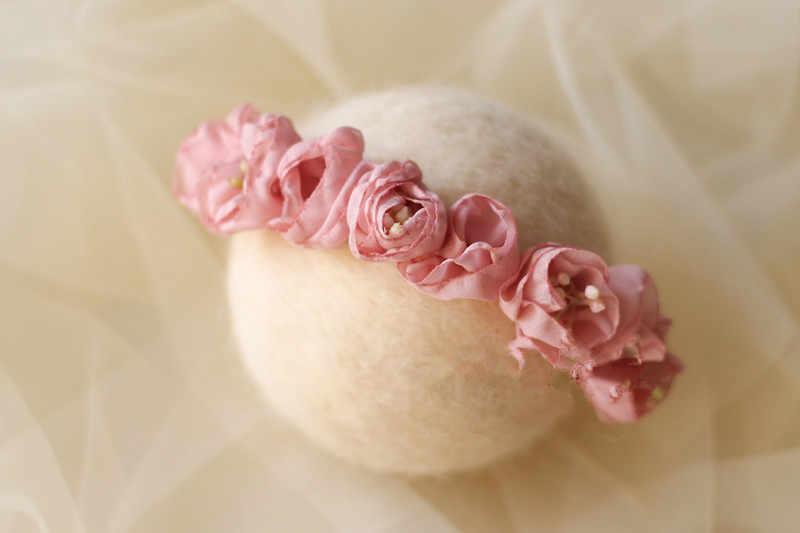 Детские украшения для волос для фотосъемки реквизит съемка цветок Флер бандо головной убор для девочки головная повязка для новорожденных аксессуары для девочек