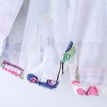 DOSOMA New Spring Baby Coat And Jacket For Girl Cartoon Graffiti Hooded Windbreaker For Girls Full Sleeve Toddler Outerwear