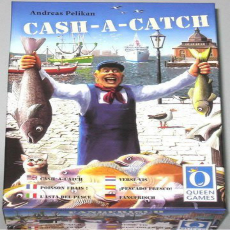 Cash A Catch Fish Trade Market Caught Instructions In English Table Games цена 2017