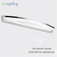 90 V-265VAC L54cm 12 Watt led spiegel lichter lampe spiegelschrank lichter SMDLED Kleid tisch acryl schlafzimmer badezimmer hotel beleuchtung