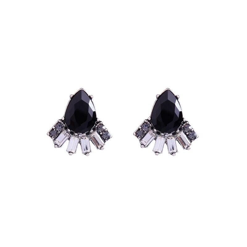 Black Classic Waterdrop Stud Earrings ali express New Hot Sale Jewelry Fashion Women Earrings Jewelry Wholesale