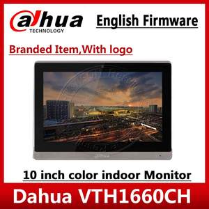 Touch-Screen Dahua VTH1660CH 800x480-Resolution Indoor-Monitor English Color 10inch Export-Version
