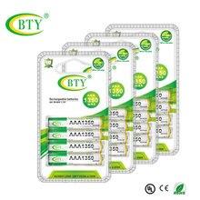 16 шт/4 шт/упаковка BTY Ni-MH аккумуляторная батарея 1350 mAh 1,2 V AAA аккумуляторная батарея 3A батареи для мыши игрушечная камера часы