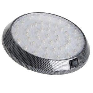 Image 5 - 1 шт. DC12V 46 LED Автомобильный Интерьер Свет Купол крыши Потолок для чтения багажник автомобиля свет лампы автомобиля Стайлинг ночник ABS пластик