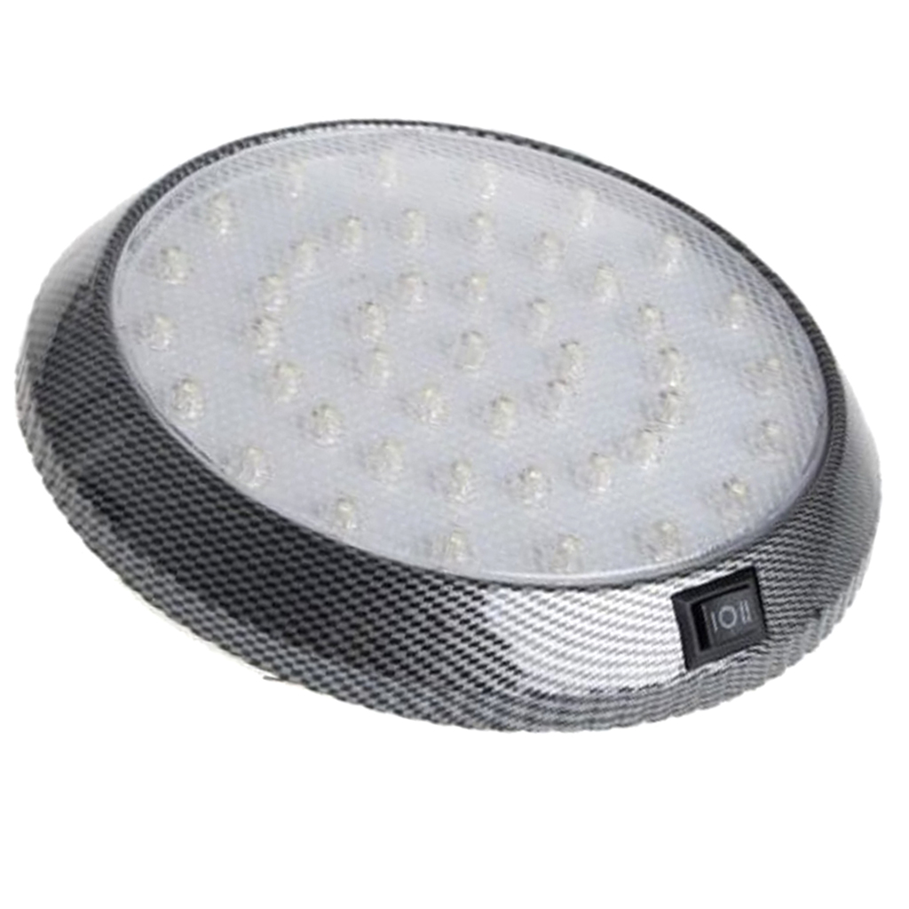 Image 5 - 1 Pcs DC12V 46 LED Vehicle Car Interior Light Dome Roof Ceiling Reading Trunk Car Light Lamp Car Styling Night Light ABS Plastic-in Signal Lamp from Automobiles & Motorcycles