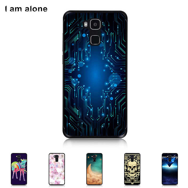 For Doogee Y6 5.5 inch High Quality Soft TPU Silicone Cover Mobile Phone Color Paint Case