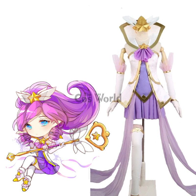 LOL Star Guardian Janna The Storm s Fury Cannon Dress Uniform Outfit Cosplay Costumes