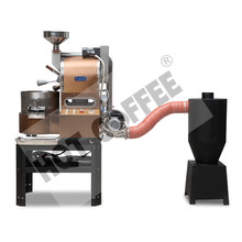 1.2kg Coffee Roaster with Fire adjust roller dust drawer air cooling arms working platform 2017 new design professional coffee