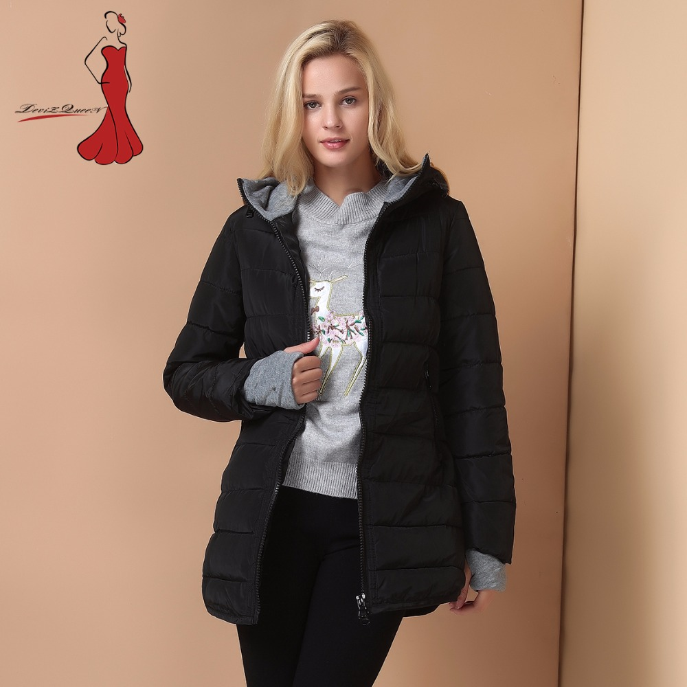 Winter Jacket women Plus Size Womens Parkas Thicken Outerwear solid hooded Coats Short Female Slim Cotton padded basic tops new 2017 winter cotton coats women jacket stitching slim parkas hooded feather padded female long outerwear abrigos mujer 1056