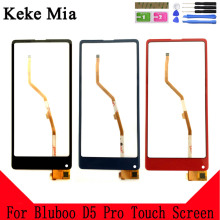 Keke Mia 5.5 100% New D5 Pro Touch Screen For Bluboo D5 Pro Touch Glass Front Glass Digitizer Panel Sensor Tools цена