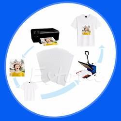 10 листов A4 гладить на струйной печати передачу тепла Бумага для рукоделия футболка новая