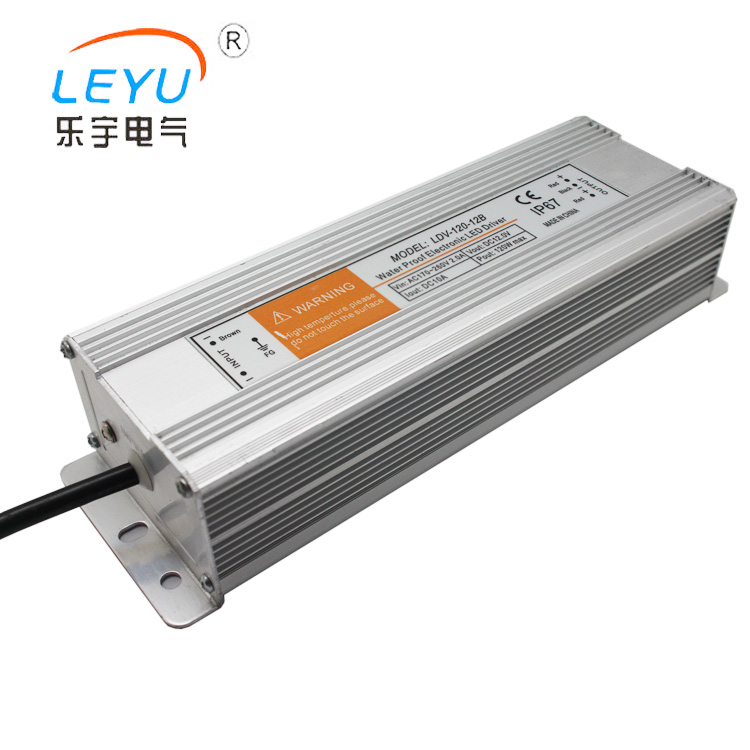 CE RoHS approved LDV-120-12 single output waterproof 12v 10a power supply led driver
