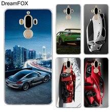 DREAMFOX M294 Super Sports Car Soft TPU Silicone Cover Case For Huawei Mate 8 9 10 20 30 Lite Pro lp m294