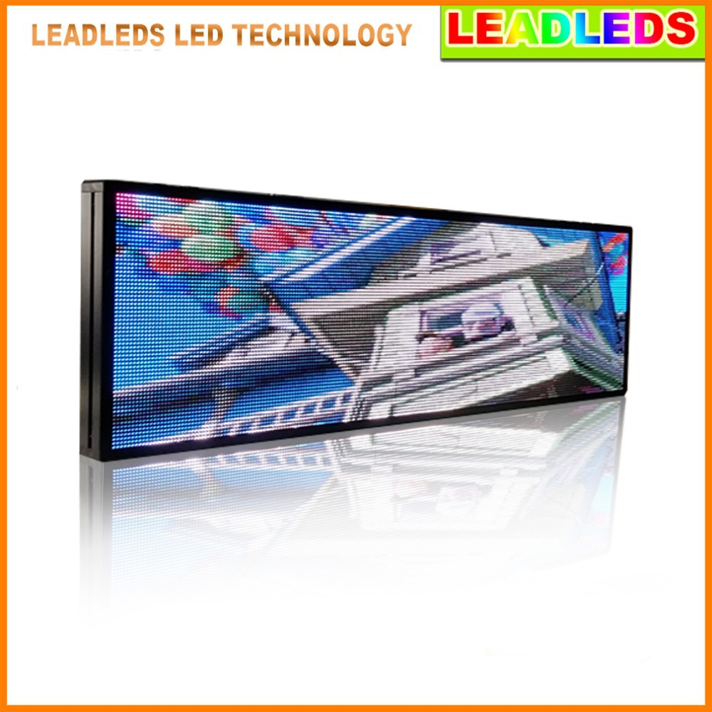 P5mm Full Color Indoor LED Video Display Screen Programmable Ad Board Message Sign , 3-in-1 Led, Fast Program By LAN