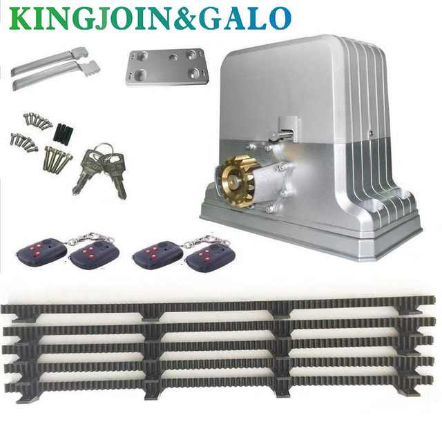 1800kg electrical automatic sliding gate door opener motor 5 nylon 1800kg electrical automatic sliding gate door opener motor 5 nylon racks 1 photocell 1 lamp publicscrutiny Image collections
