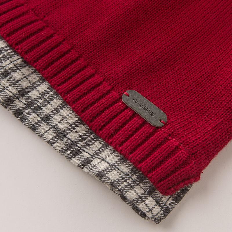 2a2cde456898 DB5900 dave bella autumn newborn baby boys 100% cotton pullover ...
