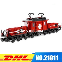 IN Stock Lepin 21011 1130Pcs Technical Series The Medical Changing Train Set Children Educational Building Blocks
