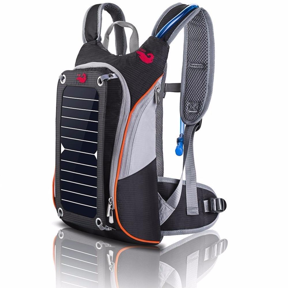 Brand New Solar paneeli seljakott ratsutamine Lovers veekott - Seljakotid