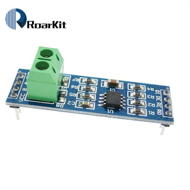 FREE SHIPPING MAX485 module, RS485 module, TTL turn RS - 485 module, MCU development accessories for arduino