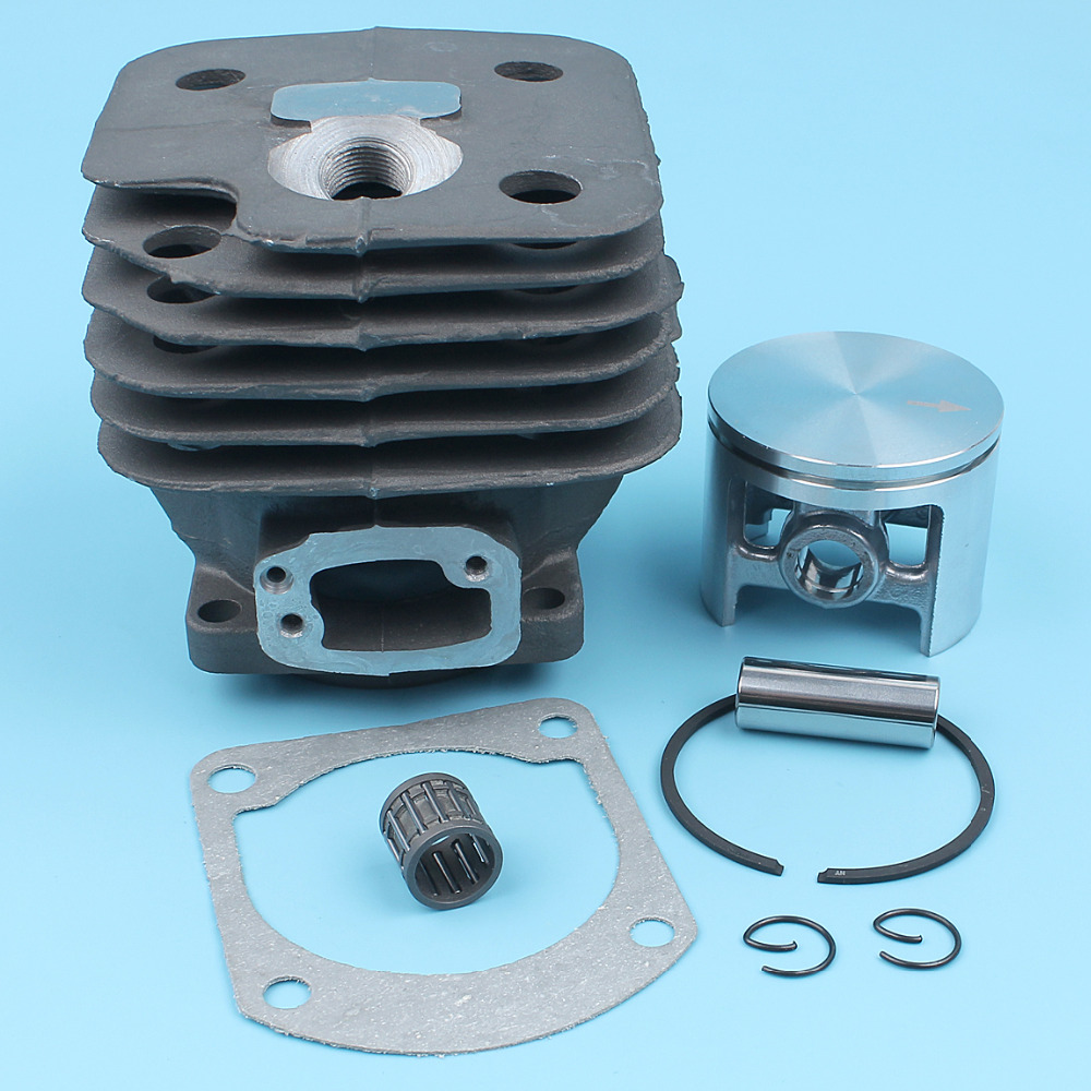 52mm Cylinder Piston Needle Bearing w/ Gasket Kit For HUSQVARNA 268 272 272XP 61 272K Chainsaw [#503 7581 72] NIKASIL PLATED 52mm cylinder barrel & piston assembly fits husqvarna 268 272 chainsaw part