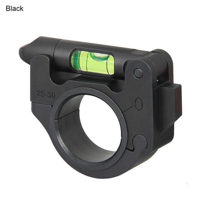 "Tactical Scope Level Optics Foldable Bubble Level Ring For 1"" 30mm Tube Articulating Scope Durable Balance Holder Mount"