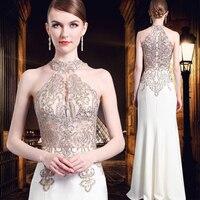 Plus Size Diamonds Perspective 2018 Women's Elegant Long Gown Party Proms For Gratuating Date Ceremony Gala Evenings Dresses 53