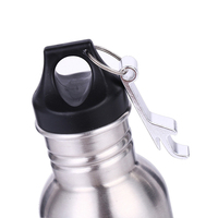 BIUBIUTUA 304 Stainless Steel Beer Insulator Cup Cold Keeper Holder with Metal Bottle Opener Cold Beer Holder Bottle 3