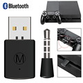 Bluetooth Wireless Headset Headphone Adapter with Mic Bluetooth 4.0 adapter PS4 USB adapter USB Dongle For PS4 Xbox one