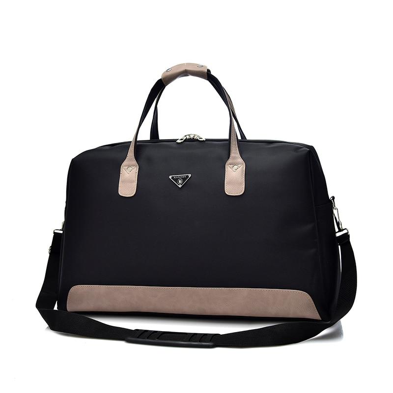 Открытый Для женщин большой Ёмкость путешествия Сумки Фитнес Сумки женская спортивная сумка дорожная сумка дамы нейлоновая сумка 2 Размеры ...