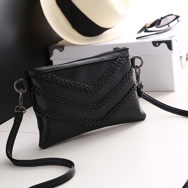 6fbb2b6cffa4 UKQLING Brand Small Women Messenger Bags Designer Cross Body Shoulder Bag  with Belt Strap Sac a Main Lady Clutch Purses Phone-in Crossbody Bags from  Luggage ...