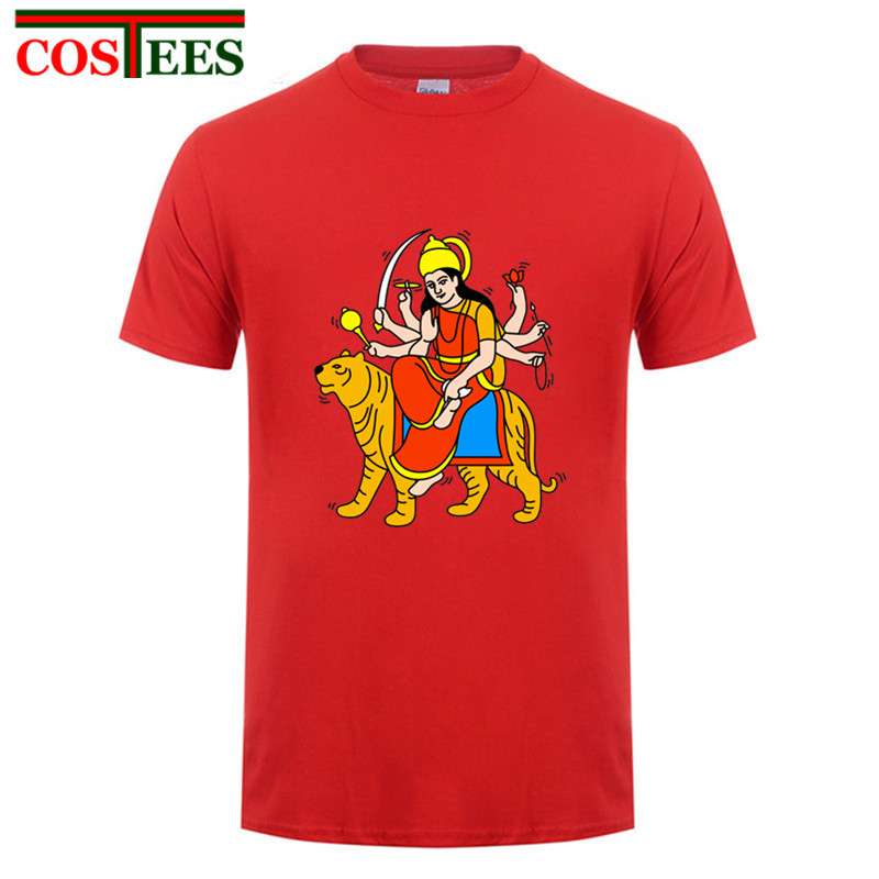 Product name  Maa Durga Keith Haring Tribute T-shirt men Indian  Mythological Warrior Goddess T shirt homme Hindu shiva the god T shirts  hombre ebd7eeeae
