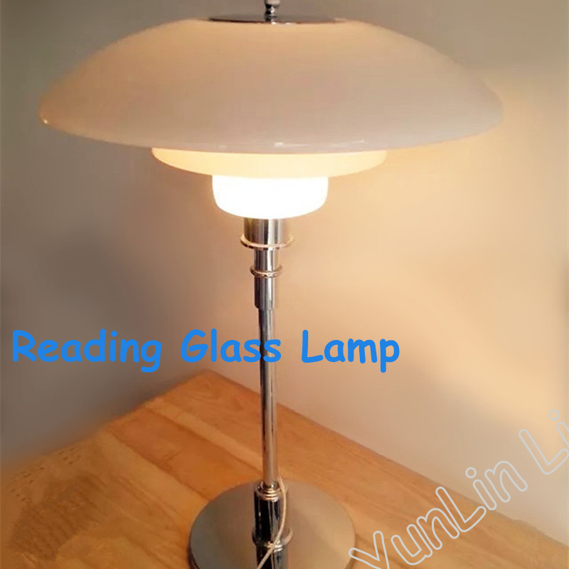 Glass Table Lamp Nordic Fashion Living Room Bedroom Bedside Desk Lamp Creative Table Lighting XDMT01-22 fumat stained glass table lamp high quality goddess lamp art collect creative home docor table lamp living room light fixtures