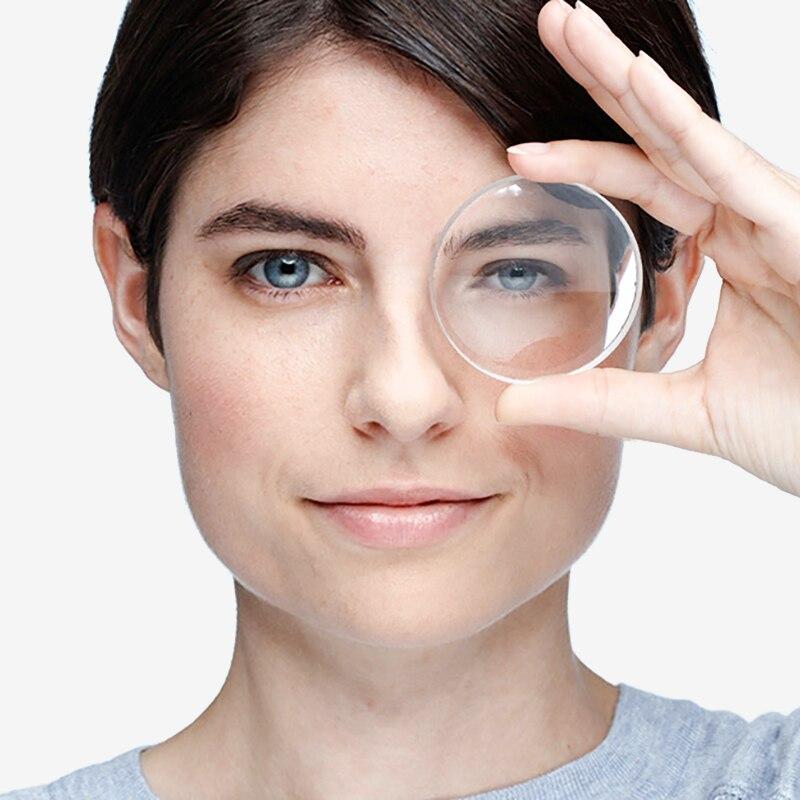 1.74 lentilles de Prescription optiques asphériques minces Ultra minces à indice élevé lentilles de myopie lentilles optiques protection UV Anti-rayonnement - 2