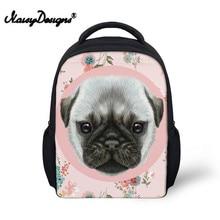 6c532395c8 Girls Cute Pug Dog Printing School Bags Backpack for Kids Kindergarten  Shoulder Bag Children Pink Escolar Book Bag
