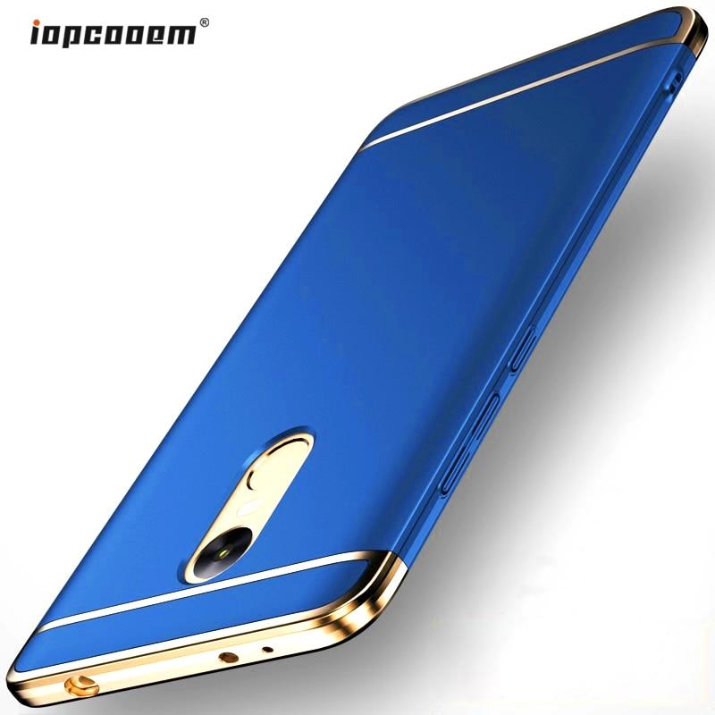 Xiaomi Redmi Note 4X Fodral Lyxig iOPCOOEM 3 i 1 Hård PC Hybrid - Reservdelar och tillbehör för mobiltelefoner