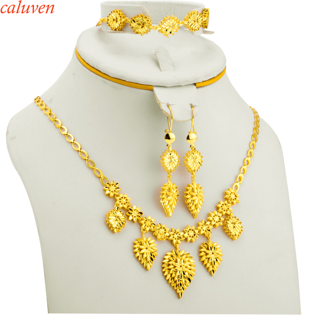 Aliexpress Buy Ethiopian Jewelry Set Gold Color African