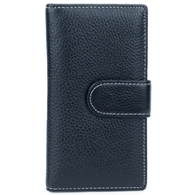 Luxurious 100% Cowhide Leather Card Wallets 2018 New Arrivals Hot Brand Multi-function Soft Credit Holders Cases